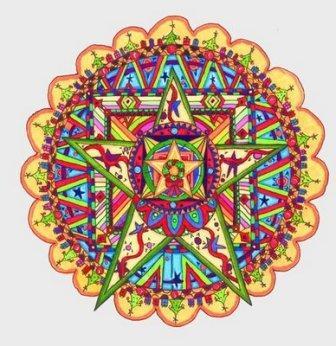 Como dibujar un Mandala y el significado de sus Colores  Yo