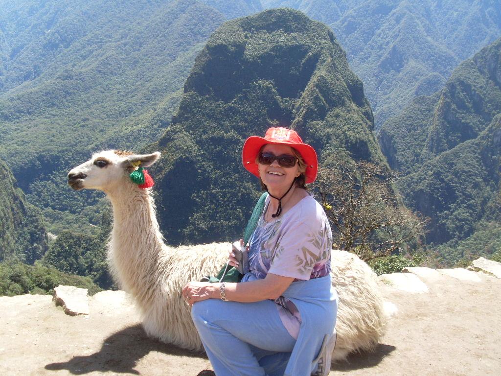 One en el Machu Pichu
