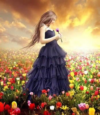 flores-y-mujer