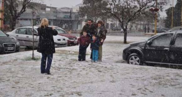 nieve en santa fe