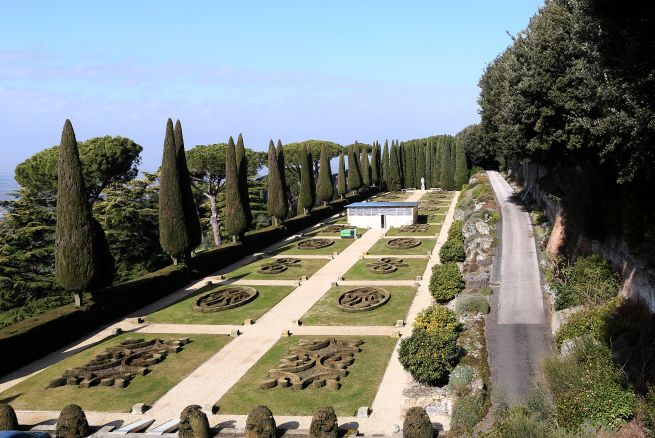 jardines castel gandolfo